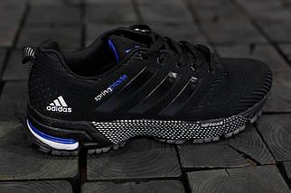 Кроссовки мужские Adidas Springblade.Черные,сетка, фото 3