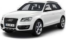Дефлектор капота (мухобойка, отбойник капота) Audi Q5 2008-2016