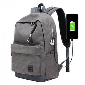 Мужской рюкзак Augur Deyizu, серый