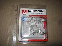 Клеммы аккумуляторные латунные, болт с гайкой, 226гр, 2 шт. (DK-TC227) <ДК>