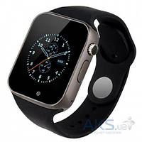 Умные часы a1 smart watch телефон стиль Apple Все цвета Черный