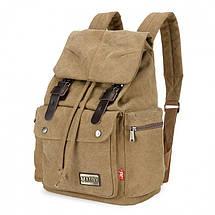 Мужской рюкзак Augur Maibo хаки, фото 2