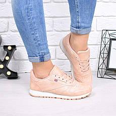 """Кроссовки, кеды, мокасины женские под бренд """"Rbk"""" обувь спортивная из эко кожи, фото 3"""