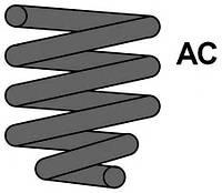 Пружина зад. Audі A4 1.9 TDі 95-, Код MC1014, MAXTRAC
