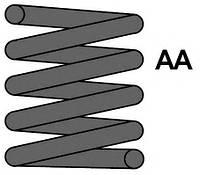 (14.75X110X340) Пружина перед. MB 210 Avangard 5/6cyl, Код MC3774, MAXTRAC