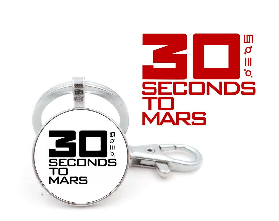 Брелок 30 seconds to Mars с логотипом