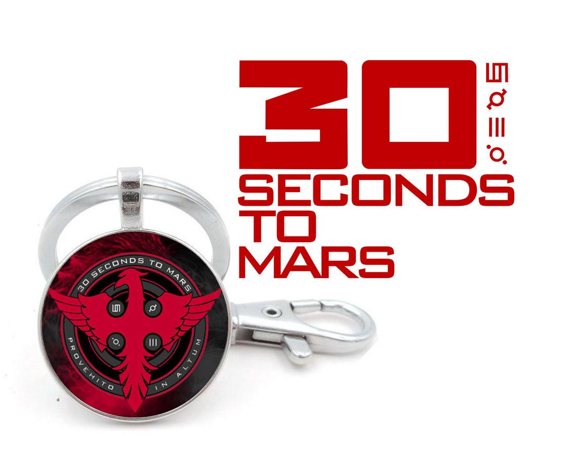 Брелок 30 seconds to Mars с логотипом Фениксом