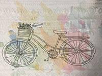 Прямая печать на ткани (цветная ткань) 100х50см