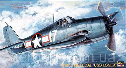 Grumman F6F-3 Hellcat 1/48 HASEGAWA JT34