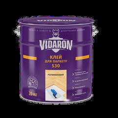 Клей д/паркету Vidaron полімерний S30 на розчиннику 13 кг