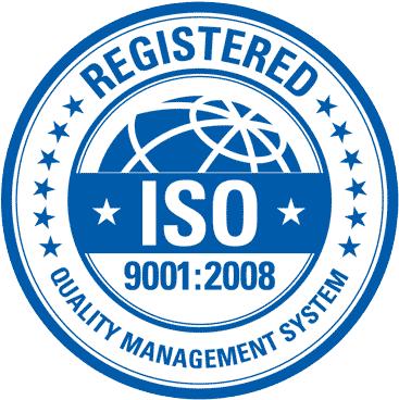Система менеджмента производителя сертифицирована в соответствии с ISO 9001:2008