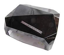 SUN Diamond гибридная светодиодная лампа UV/LED 36 W для ГЕЛЯ и ГЕЛЬ-ЛАКА многогранник , сенсор черная