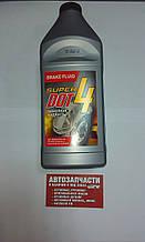 Жидкость тормозная DOT-4 455 гр пр-во Super
