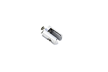 Держатель для стеклянной полки, в душевую кабину хромированный ( ЗС-6827 ) латунь, фото 3