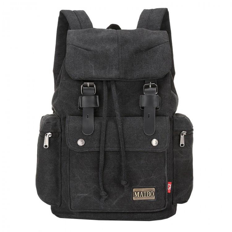 Мужской рюкзак Augur Maibo черный eps-7023