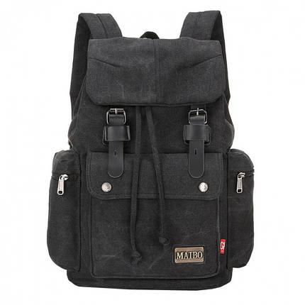 Мужской рюкзак Augur Maibo черный eps-7023, фото 2