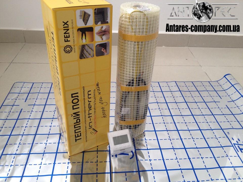 Мат электрический для обогрева дома, 5,3 м2 (Супер цена с цифровым регулятором)