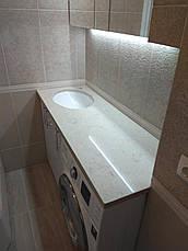 Стільниця у ванну з кварциту Caesarstone 5212, фото 2