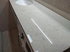 Столешница в ванную из кварцита Caesarstone 5212, фото 3