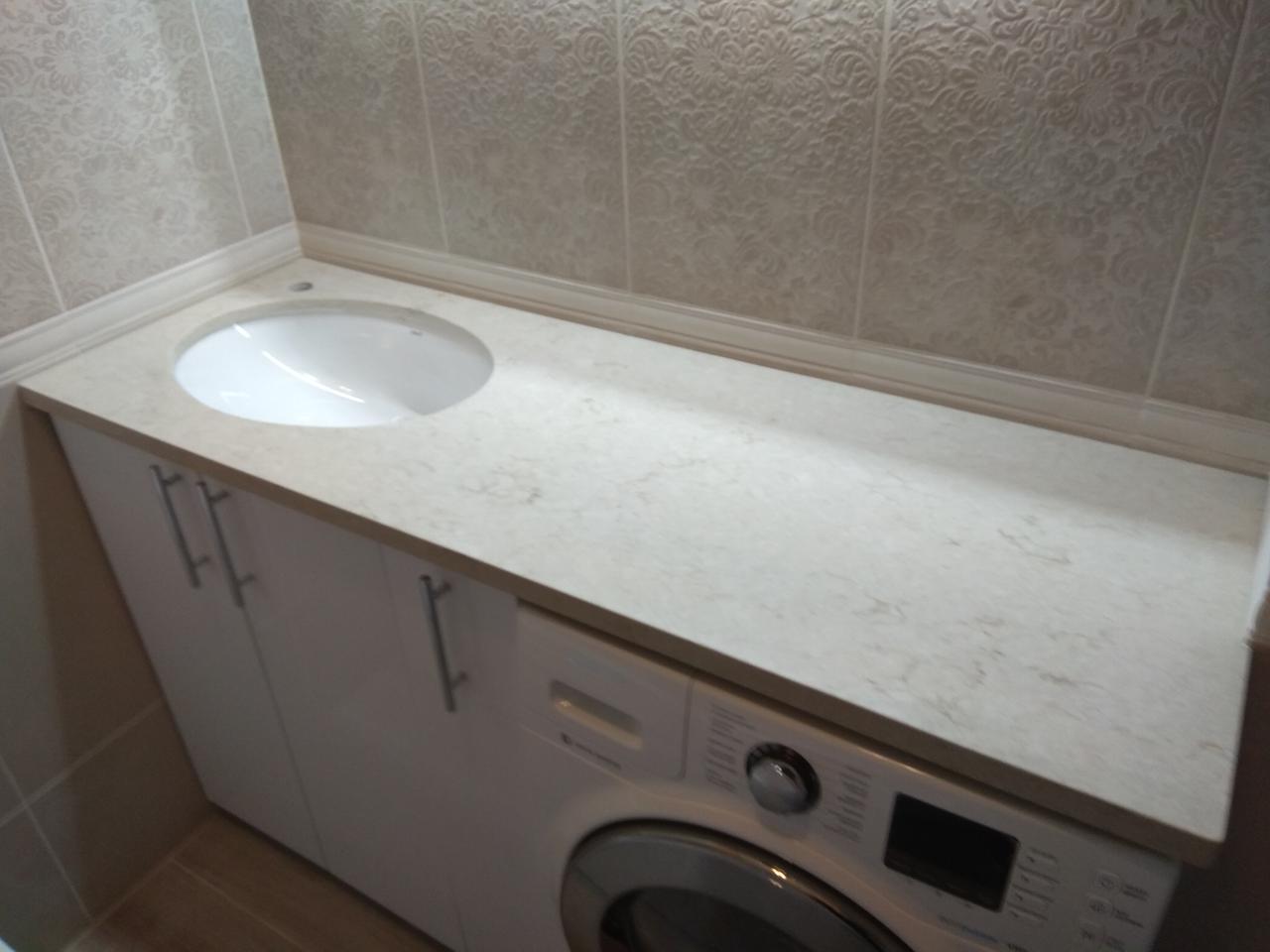Столешница в ванную из кварцита Caesarstone 5212