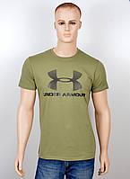 "Мужская футболка ""UnderArmour"" хаки"