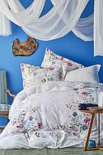 Постельное белье Пике Karaca Home ранфорс Eleta Pano фуксия евро размер (летнее постельное)