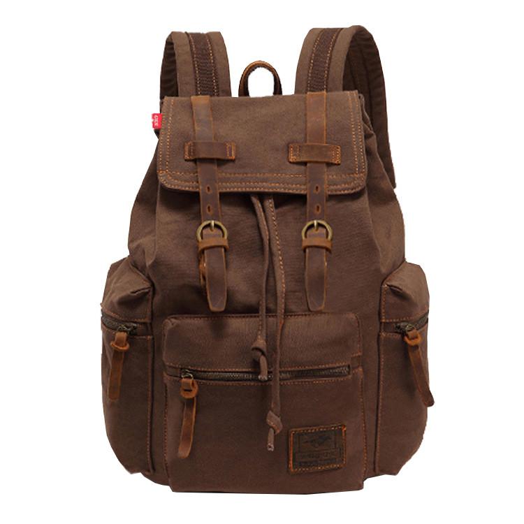 Мужской рюкзак Augur MT коричневый