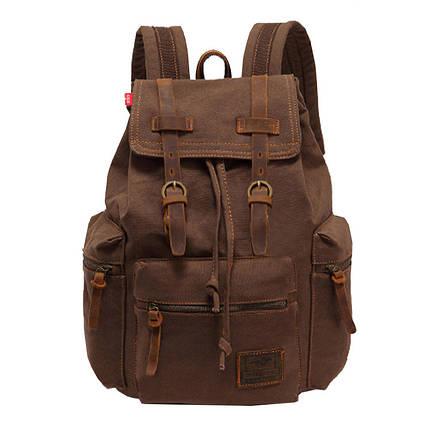 Мужской рюкзак Augur MT коричневый, фото 2