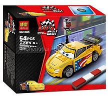 Конструктор 10005 Тачки Джеф Горвет Bela Let's Go! 54 детали аналог Лего 9481 Тачки (LEGO Cars)