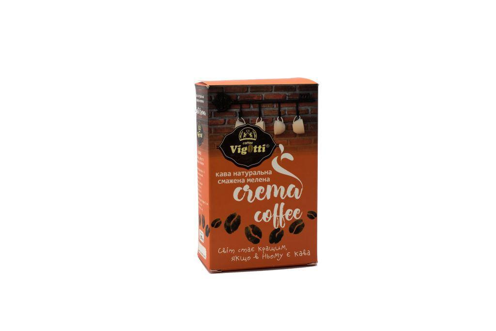 """Кава """"Vigotti  Crema Coffee"""" 250г."""