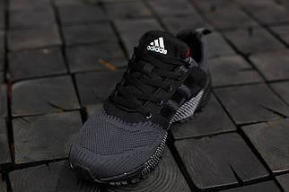 Кроссовки мужские Adidas Springblade.Темно серые,текстиль, фото 3