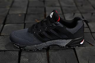 Кроссовки мужские Adidas Springblade.Темно серые,текстиль, фото 2
