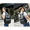 Мужской рюкзак BritBag черный eps-7003, фото 5