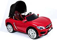 Электромобиль детский Кабриолет с крышей цвет красный
