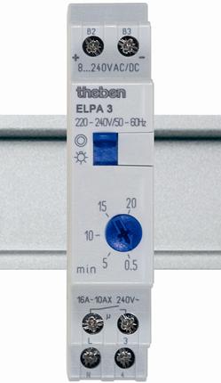 Реле лестничного освещения ELPA 3 Theben, th 0030002
