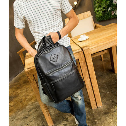 Мужской рюкзак BritBag черный eps-7005, фото 2