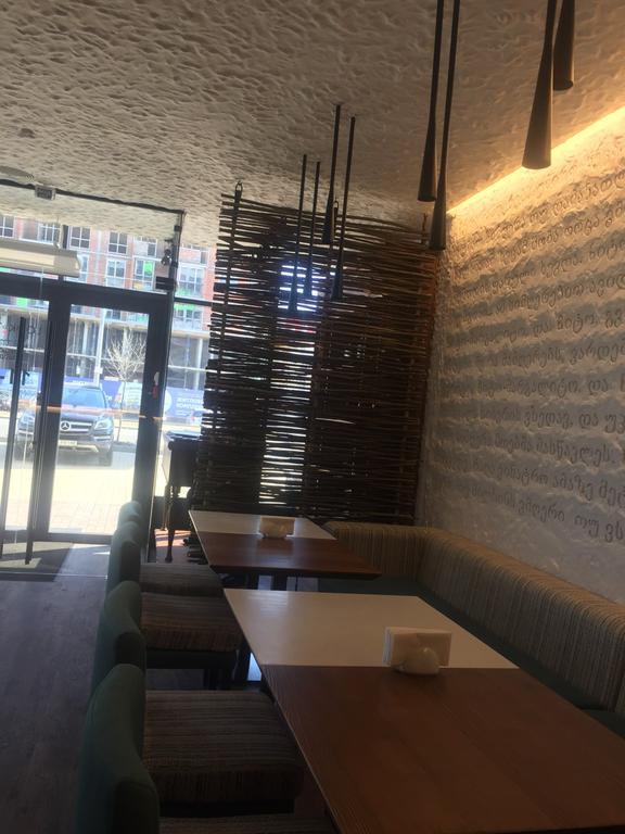 Оформление грузинского ресторана плетенкой 4