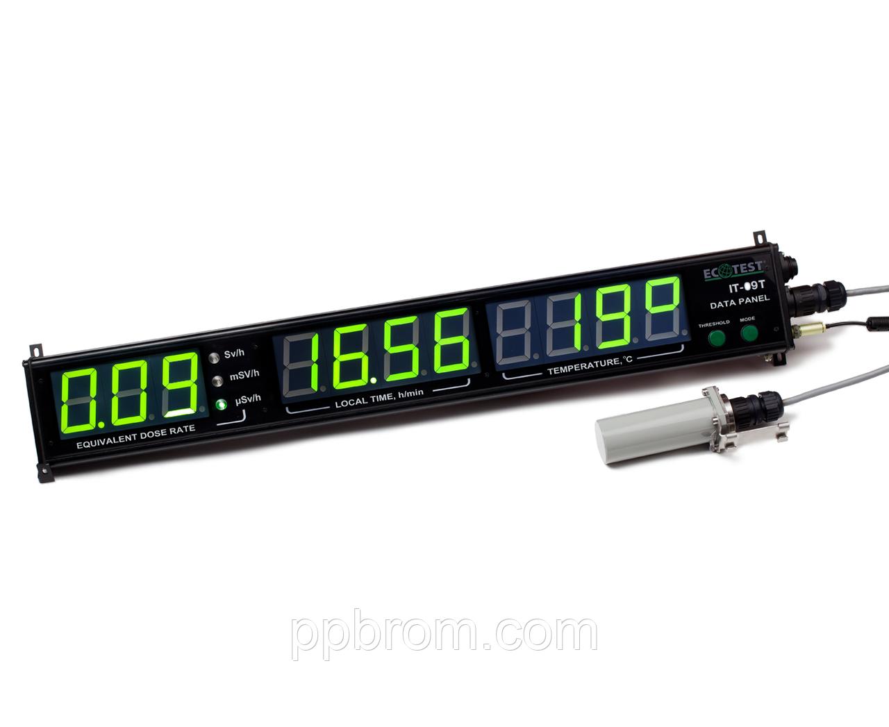 Информационное табло ИТ-09Т, стационарный дозиметр