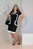 Черное платье 088