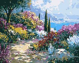 Раскраска по номерам Тропинка в цветах ArtStory AS0026 40 х 50 см