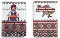 Обложка из мягкой кожи паспорт українки ( паспорт обложка )