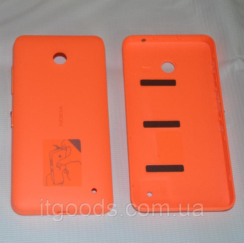 Задняя оранжевая крышка для Nokia Lumia 630   635   636   638
