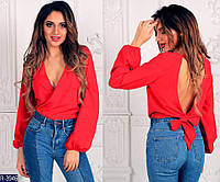 Блуза женская с открытой спиной