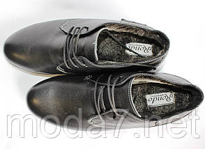 Мужские зимние туфли-ботинки RONDO 45р, фото 2