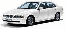 Дефлектор капота (мухобойка, отбойник капота) BMW 5 Series E39