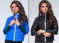 женская весенняя куртка с рукавом по локоть размер 42-44 Распродажа