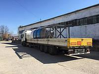 Отправка Бетоносмесительной установки БЗУ-30К г.Чернобыль