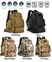 Рюкзак тактический, походной, штурмовой, туристический, военный Protector Plus S427 40л +слинг подсумок, фото 1