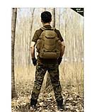 Рюкзак тактичний, похідної, штурмової, туристичний, військовий Protector Plus S427 40л +слінг подсумок, фото 4