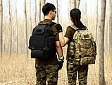 Рюкзак тактичний, похідної, штурмової, туристичний, військовий Protector Plus S427 40л +слінг подсумок, фото 5